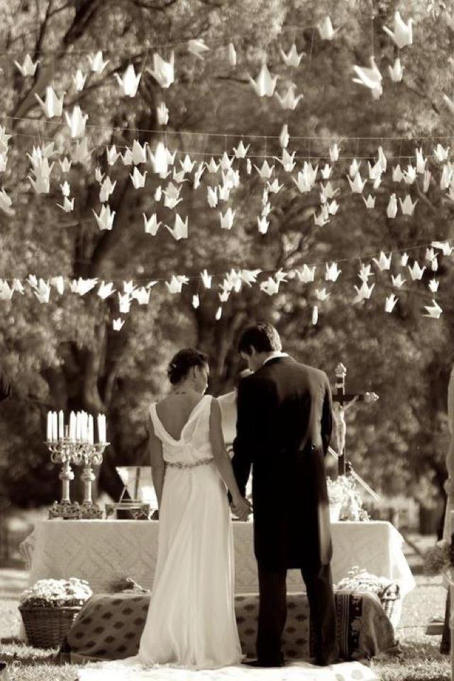 El papeleo de la boda