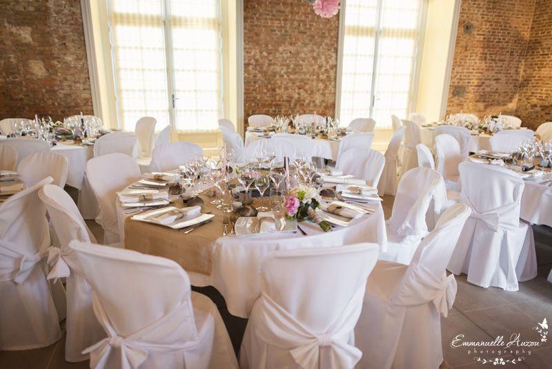 Deco table mariage champetre chic id es et d 39 inspiration sur le mariage - Mariage chic et champetre ...