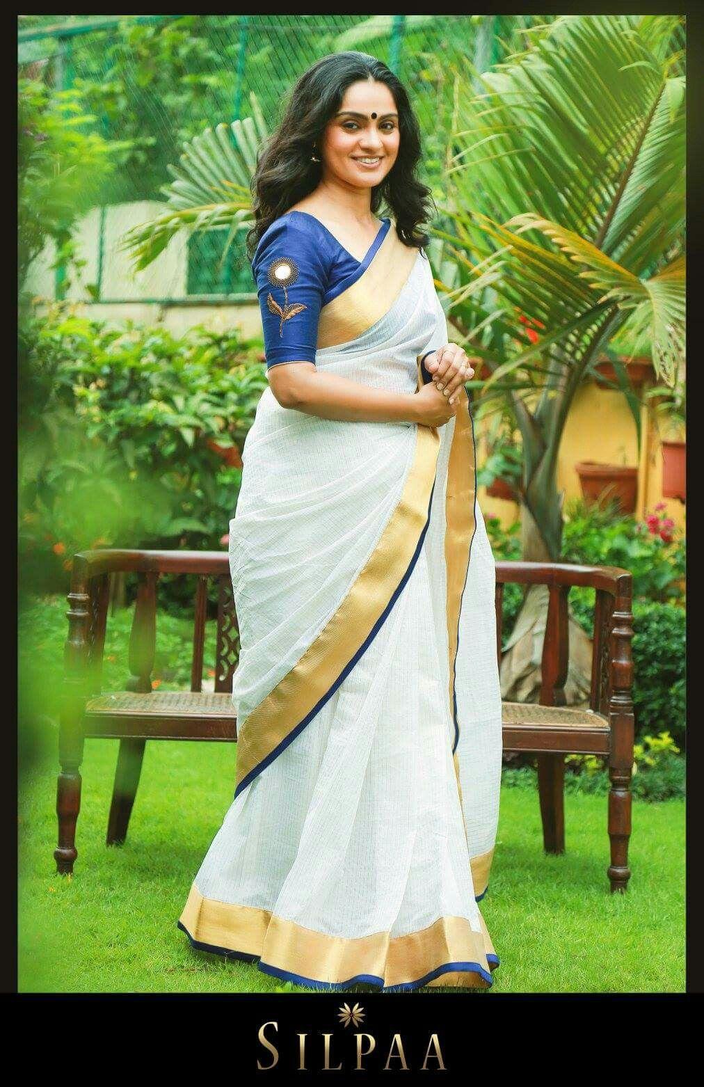 New fashion sarees in kerala 27