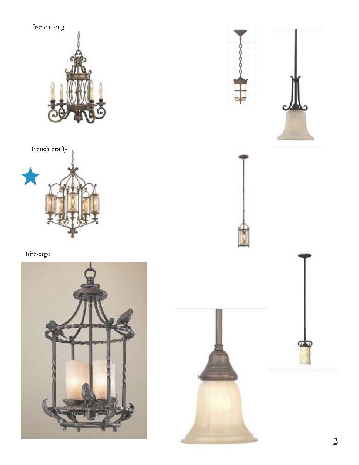 French Country Lighting Selects 2 French Country Kitchen Remodel