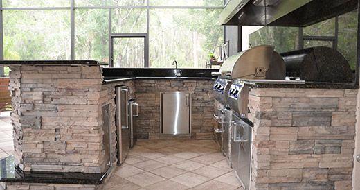 Premier Outdoor Kitchens Tampa New Pool And Lanai Pinterest