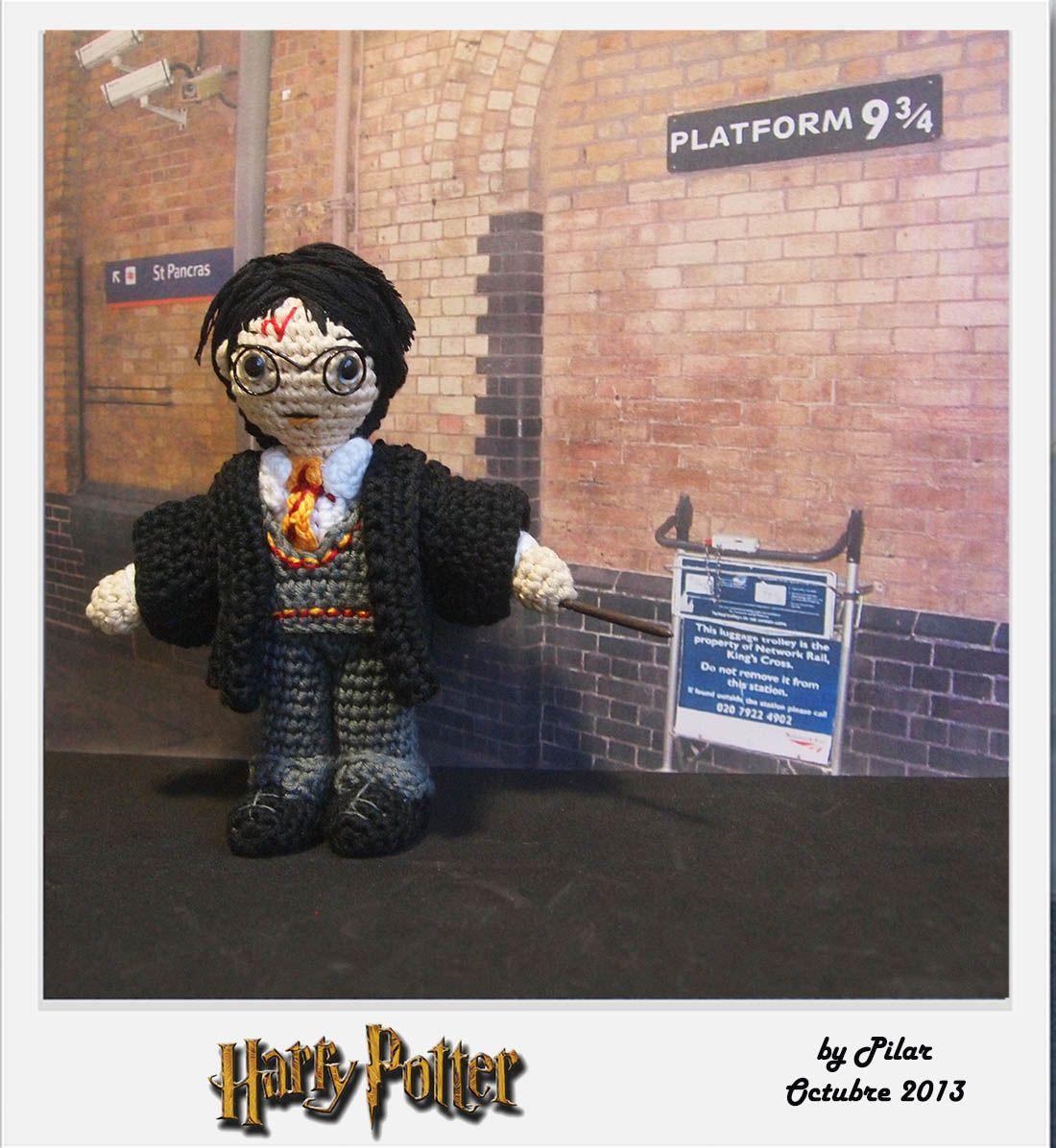 Amigurumi Harry Potter : #amigurumi Harry Potter