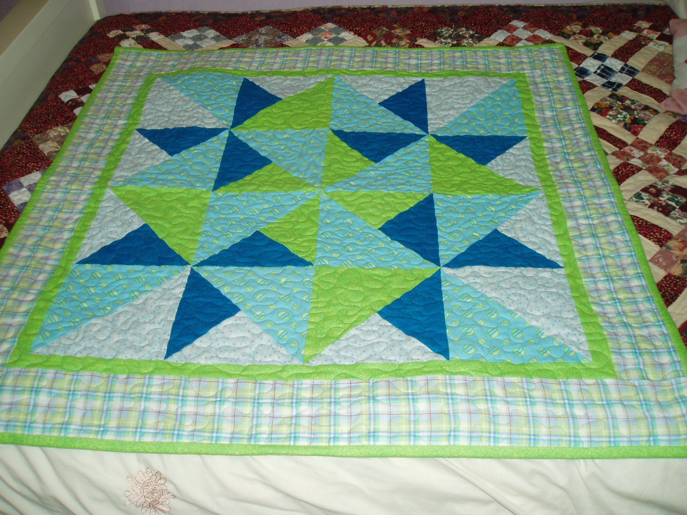 Quilt Patterns For Flannel : Flannel baby quilt - magazine pattern quilting ideas Pinterest