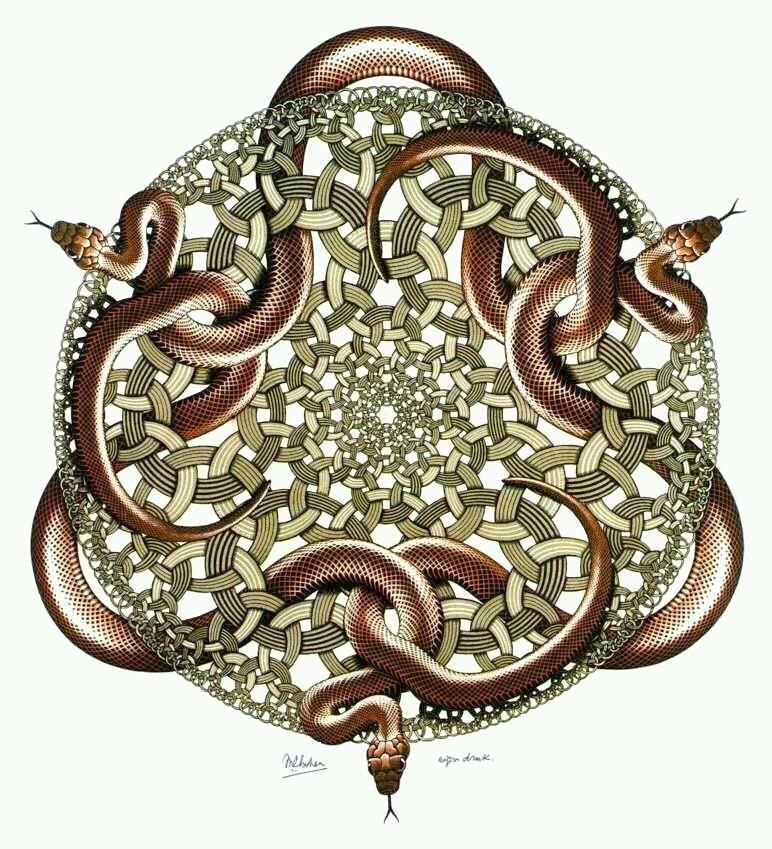 wagga snake mandala - photo#15