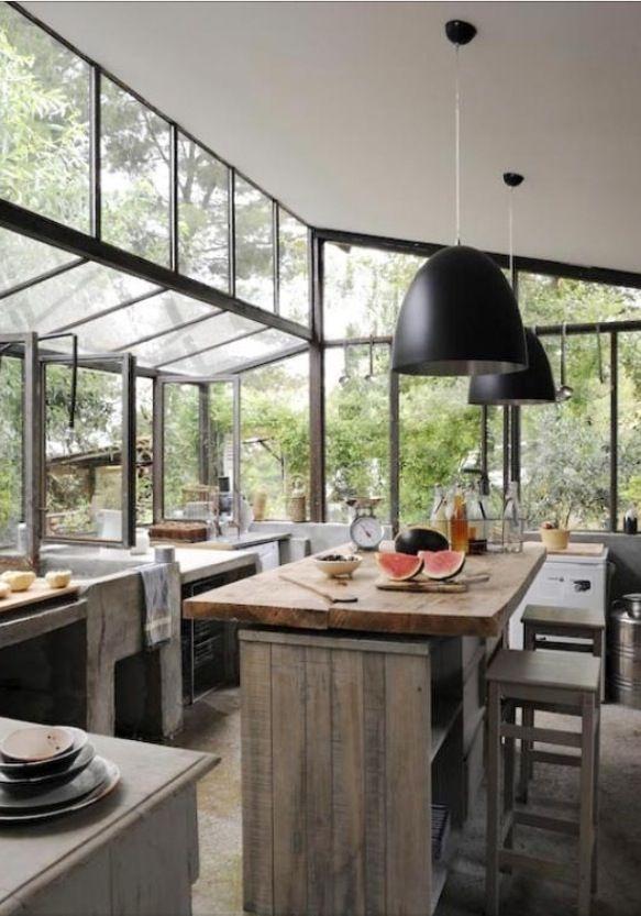 Lots of windows kitchen dining room pinterest for Kitchen designs with lots of windows