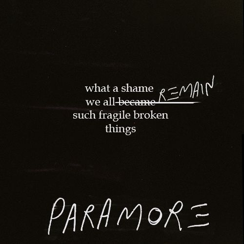 paramore song lyrics - photo #21