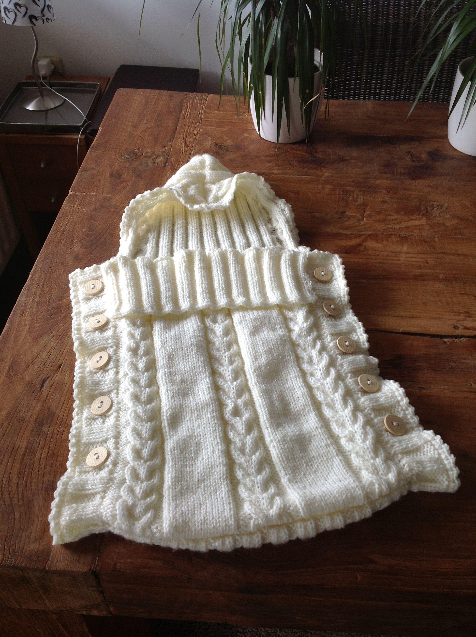 Crochet Pattern For Baby Sneakers : Baby sleeping bag knitt & crochet art Pinterest