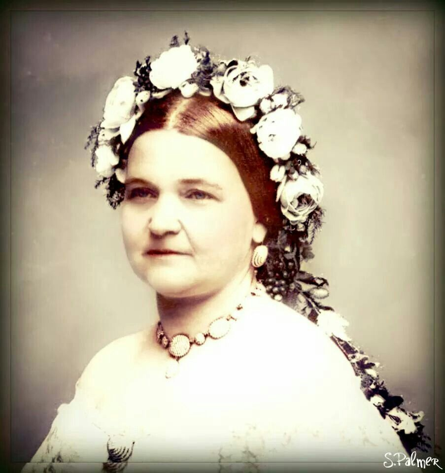 Mary Todd Lincoln 1861 Abraham Lincoln Pinterest