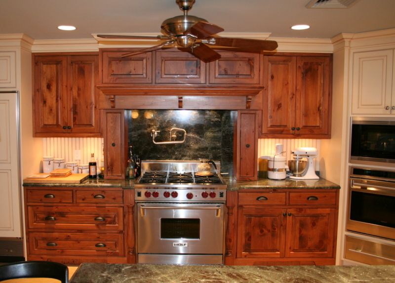 Custom Ranch Knotty Pine Cabinets Pine Pinterest