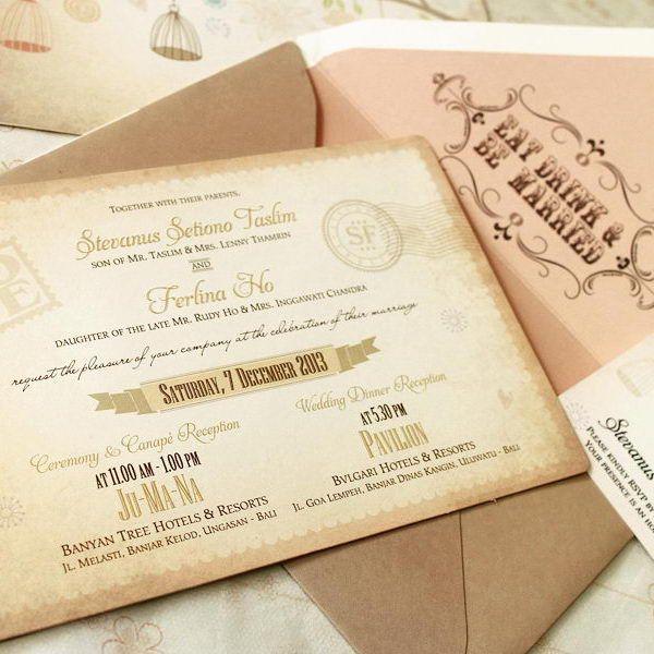 Wedding invitation card di jakarta invitationswedd foto undangan pernikahan oleh maple card di stopboris Gallery