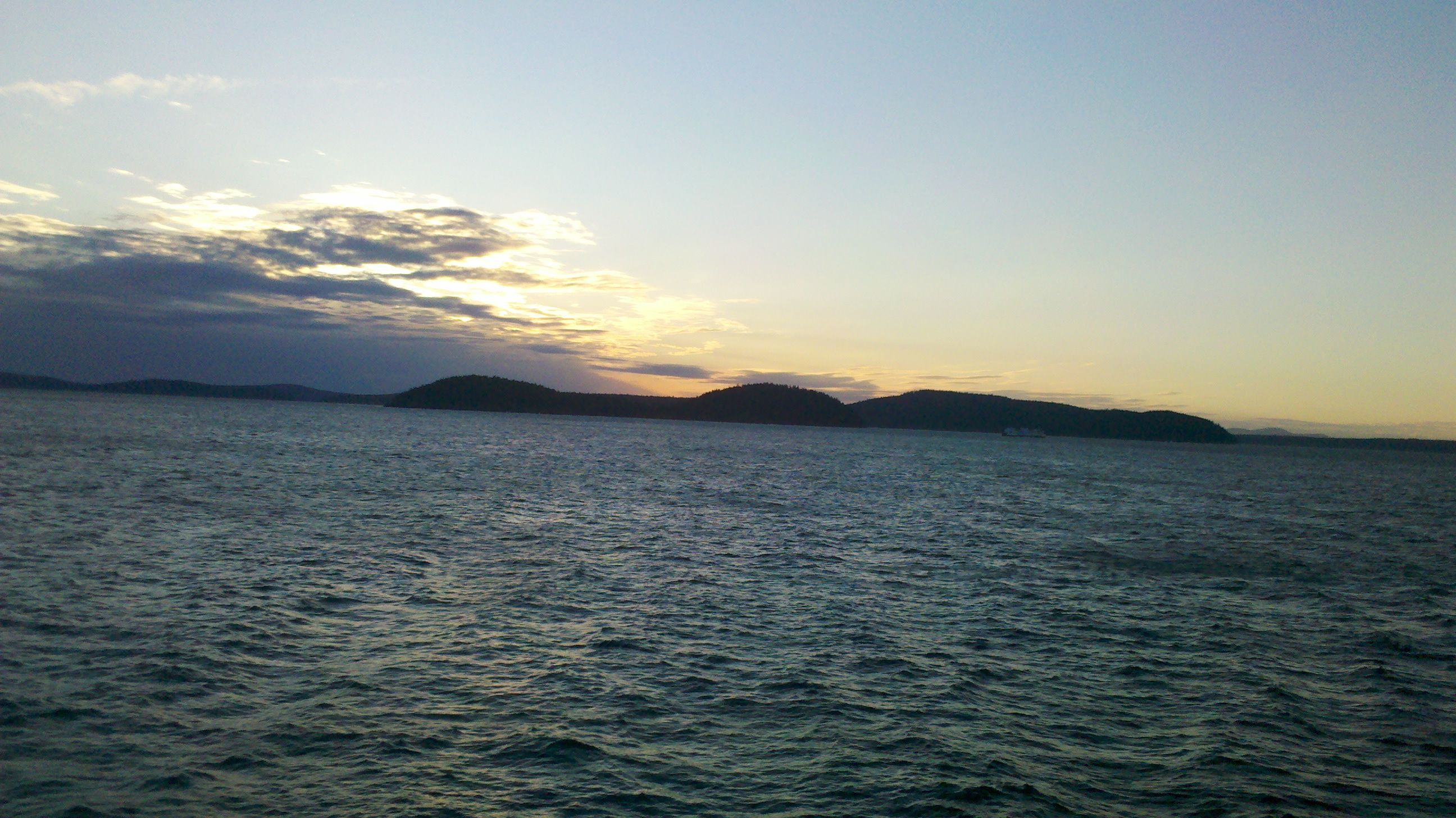 Ferry From Orcas Island