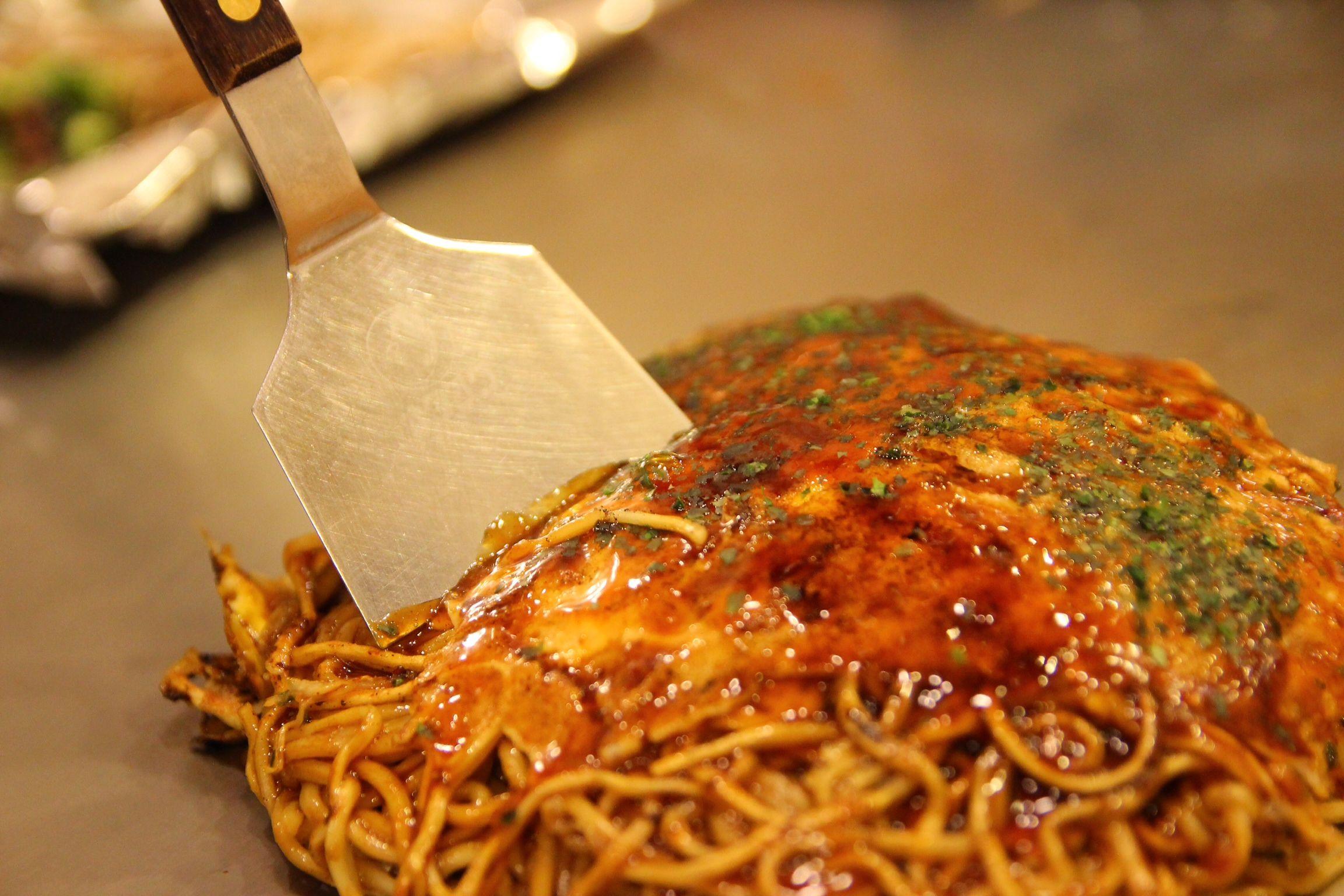 Okonomiyaki,Hiroshima style | .japan | Pinterest