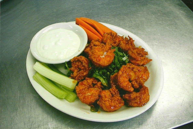 hot and spicy buffalo shrimp dip recipe yummly 10 best hot shrimp dip ...