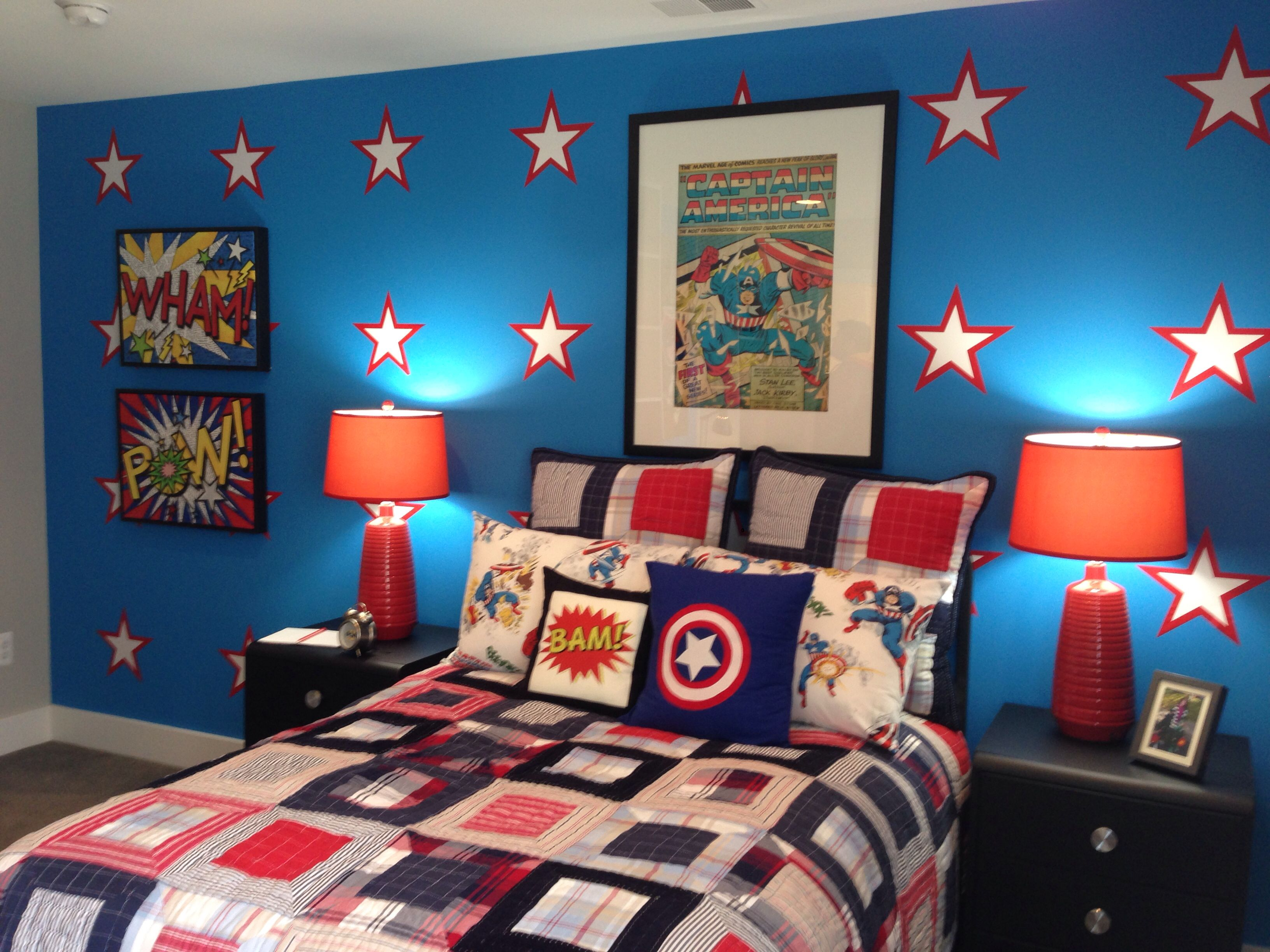 Superhero bedroom ideas bedroom kids superhero bedroom for Superhero bedroom ideas