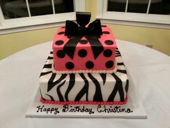 Christinas 18th birthday cake  Cake  Pinterest