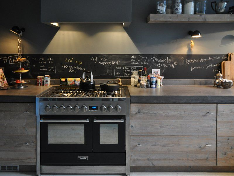 Keuken Van Steigerhout Maken : Kitchen. home is where the heart is Pinterest