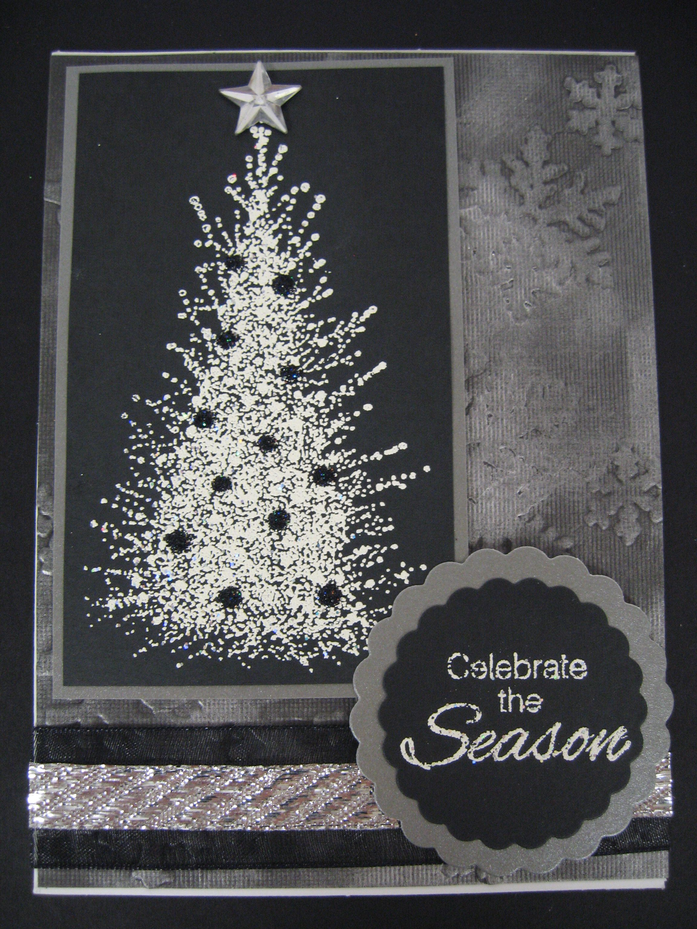 Handmade christmas card handmade greeting cards pinterest for Handmade christmas cards