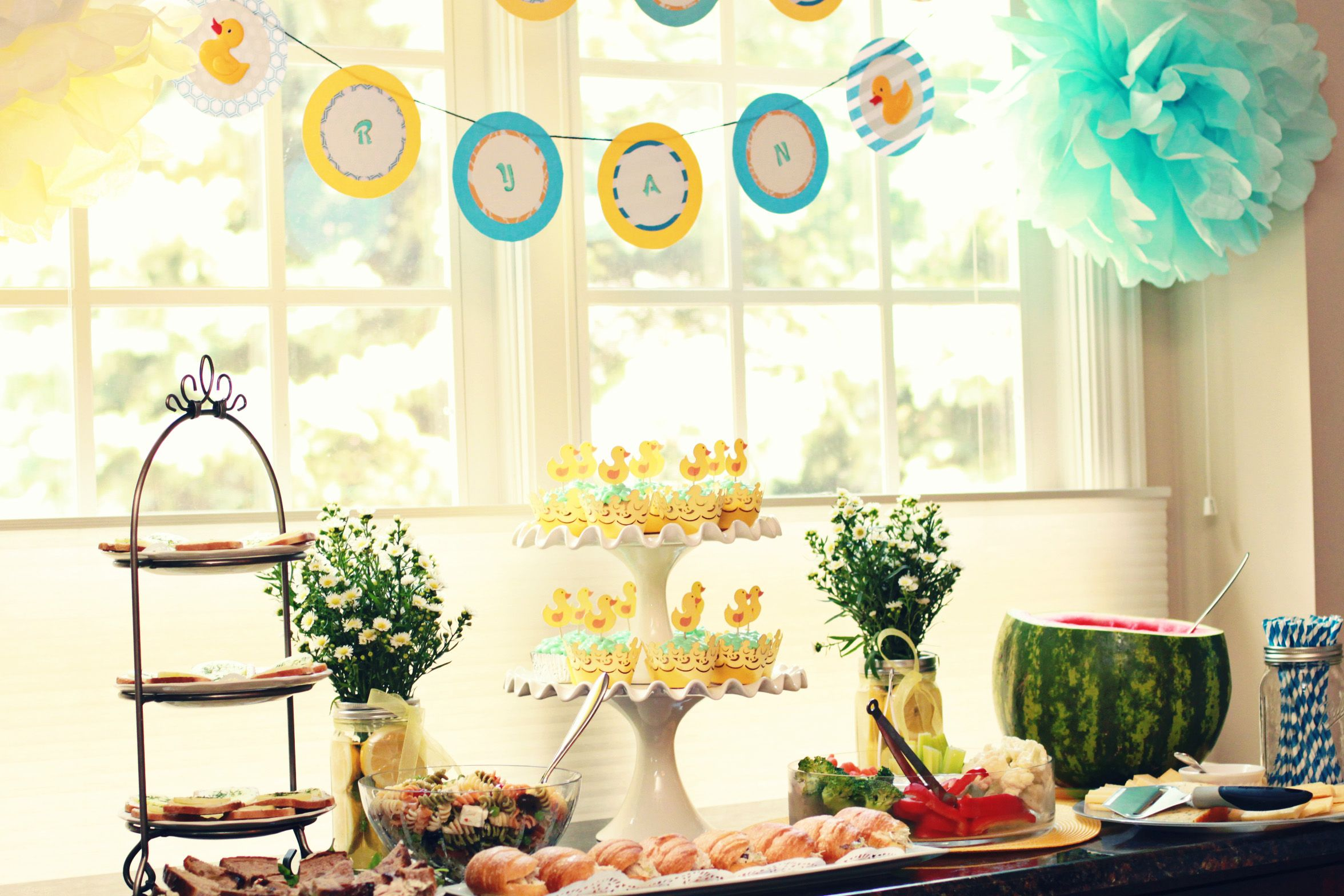 baby shower inspired by pinterest baby shower ideas pinterest