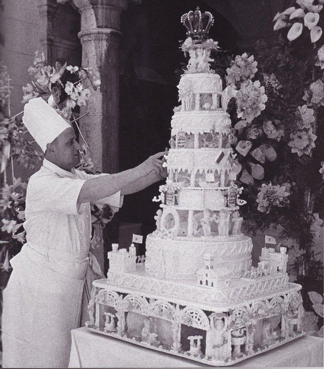 Princess Grace s wedding cake