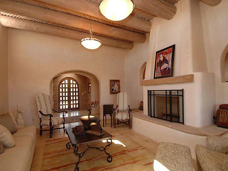 Southwest Style Pueblo Desert Adobe Home Adobe Homes
