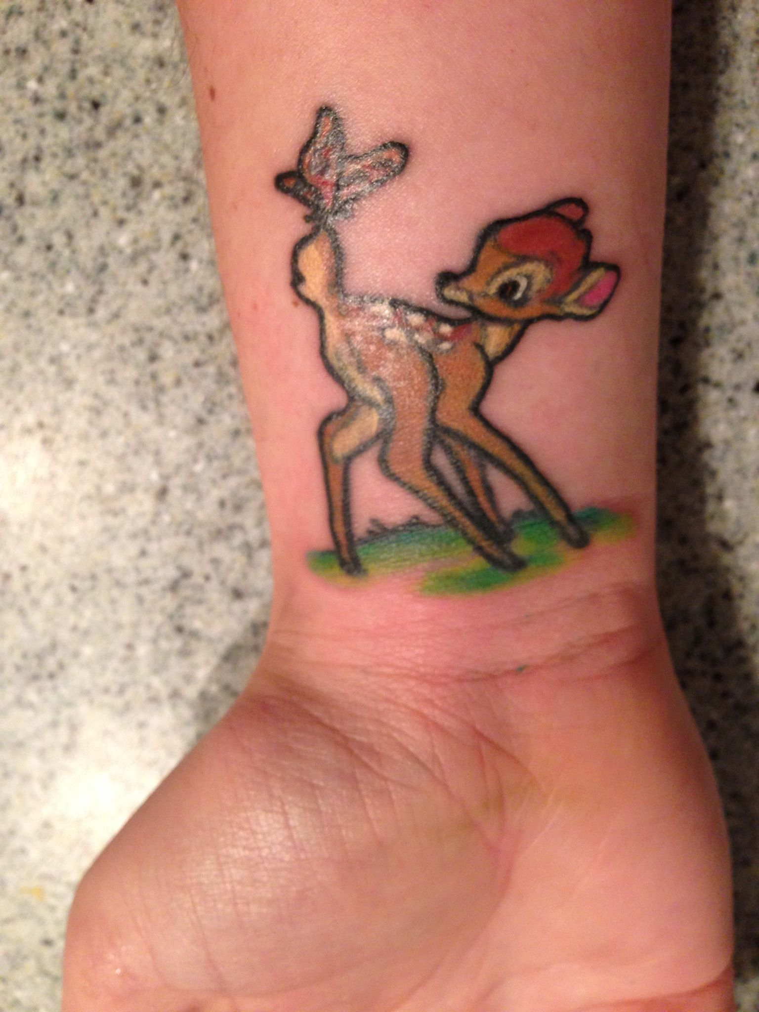 bambi tattoo photo pinterest