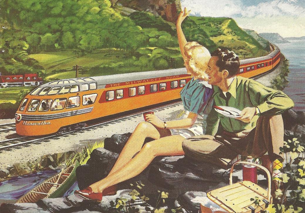 A railway journey essay