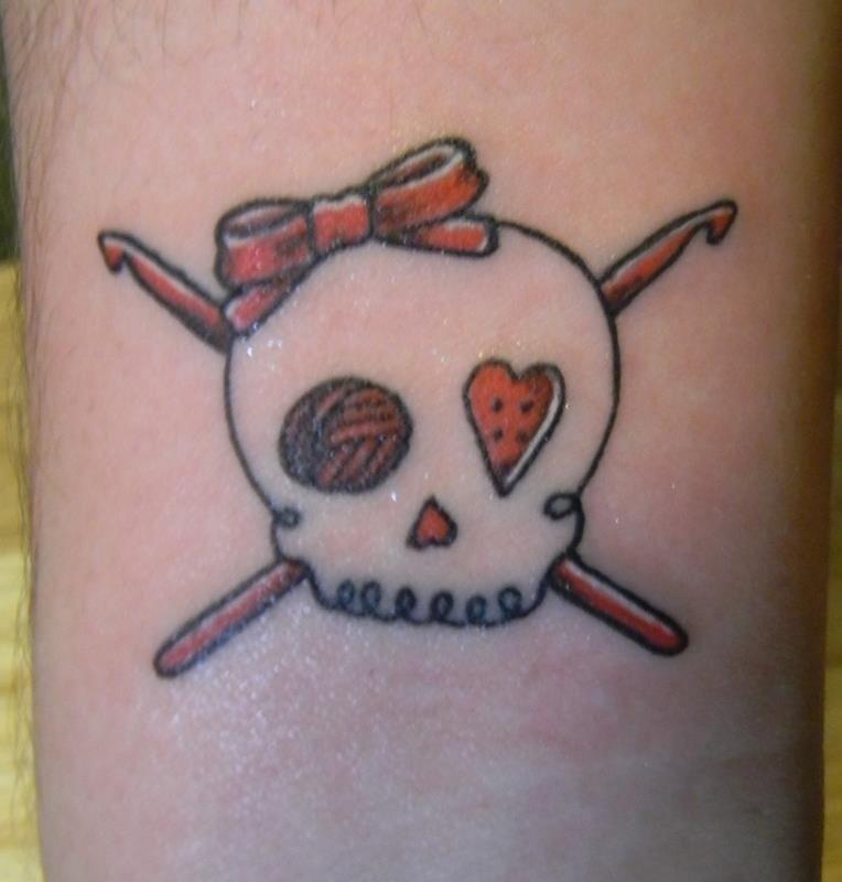 Crochet tattoo Tattoos & tatt inspiration Pinterest