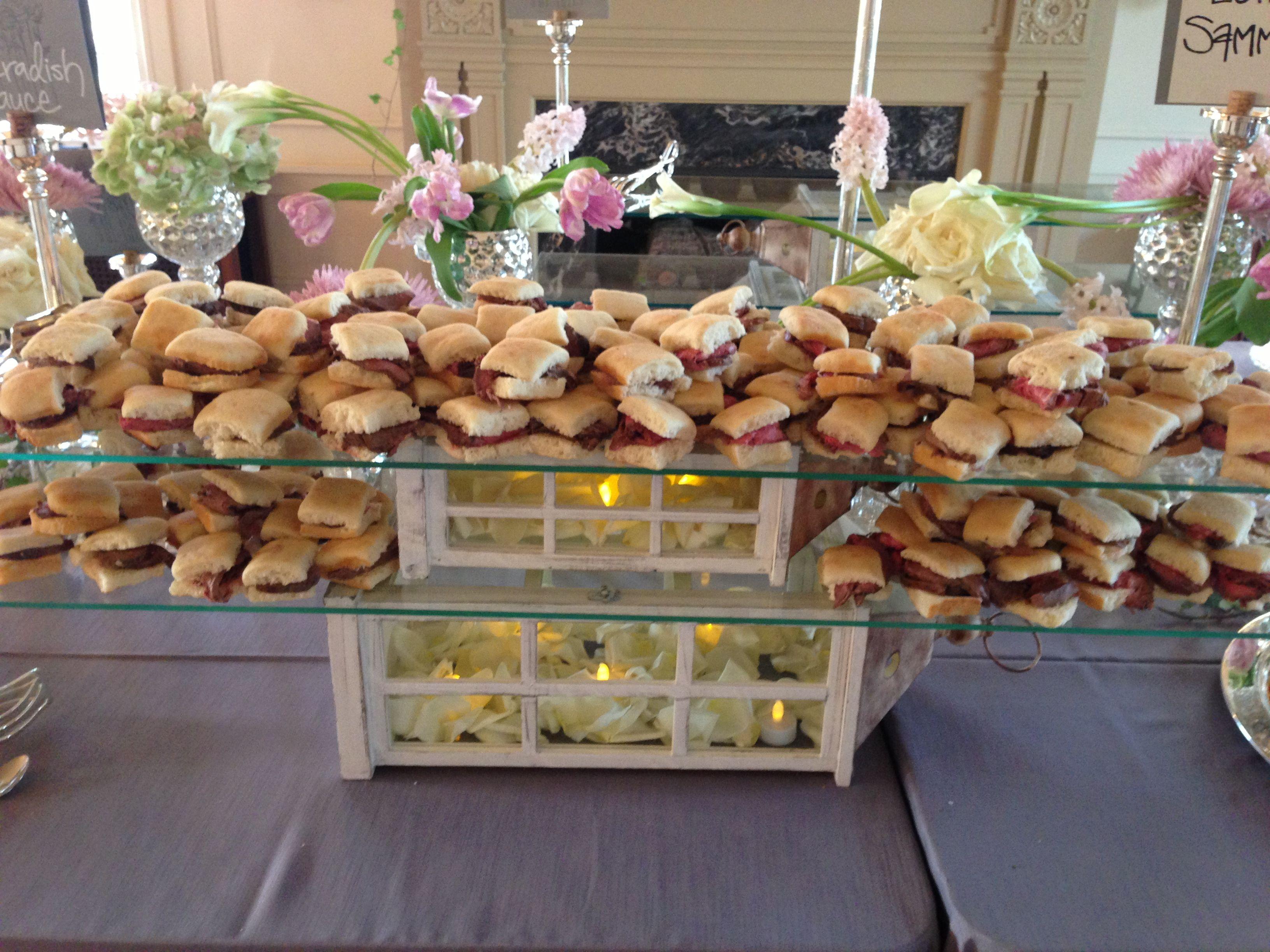 Wedding Reception Buffet Tables Pinterest