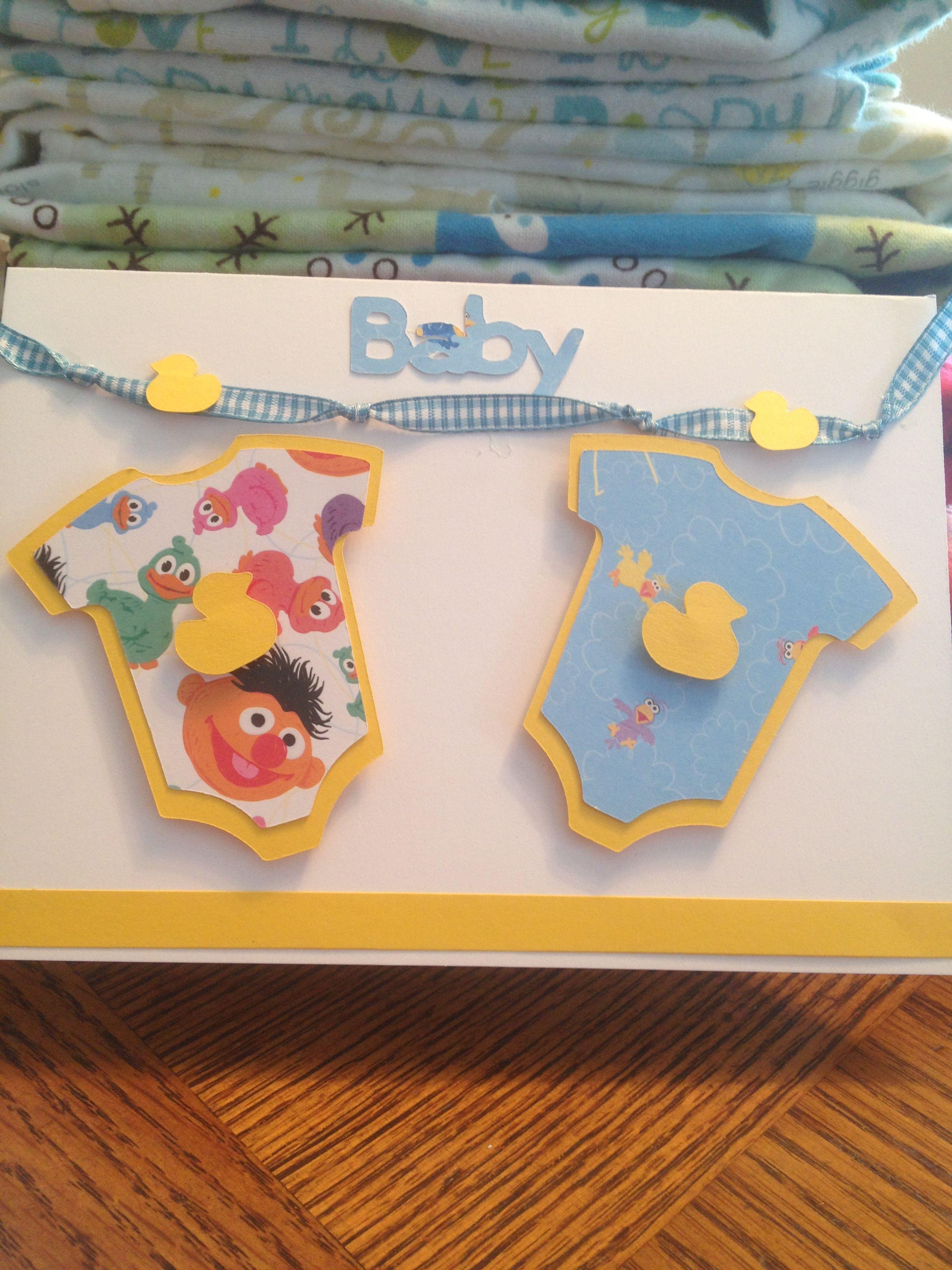 baby shower card used cricut cricut pinterest