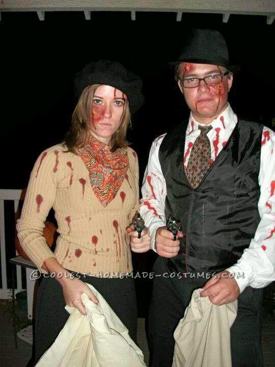 Bonnie & Clyde | Halloween :-D | Pinterest