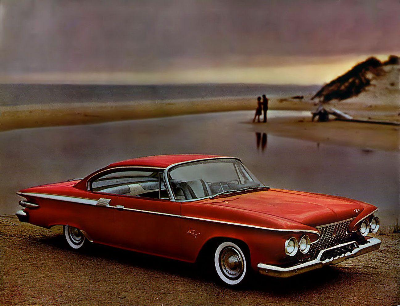 Vintage Pin Up Car