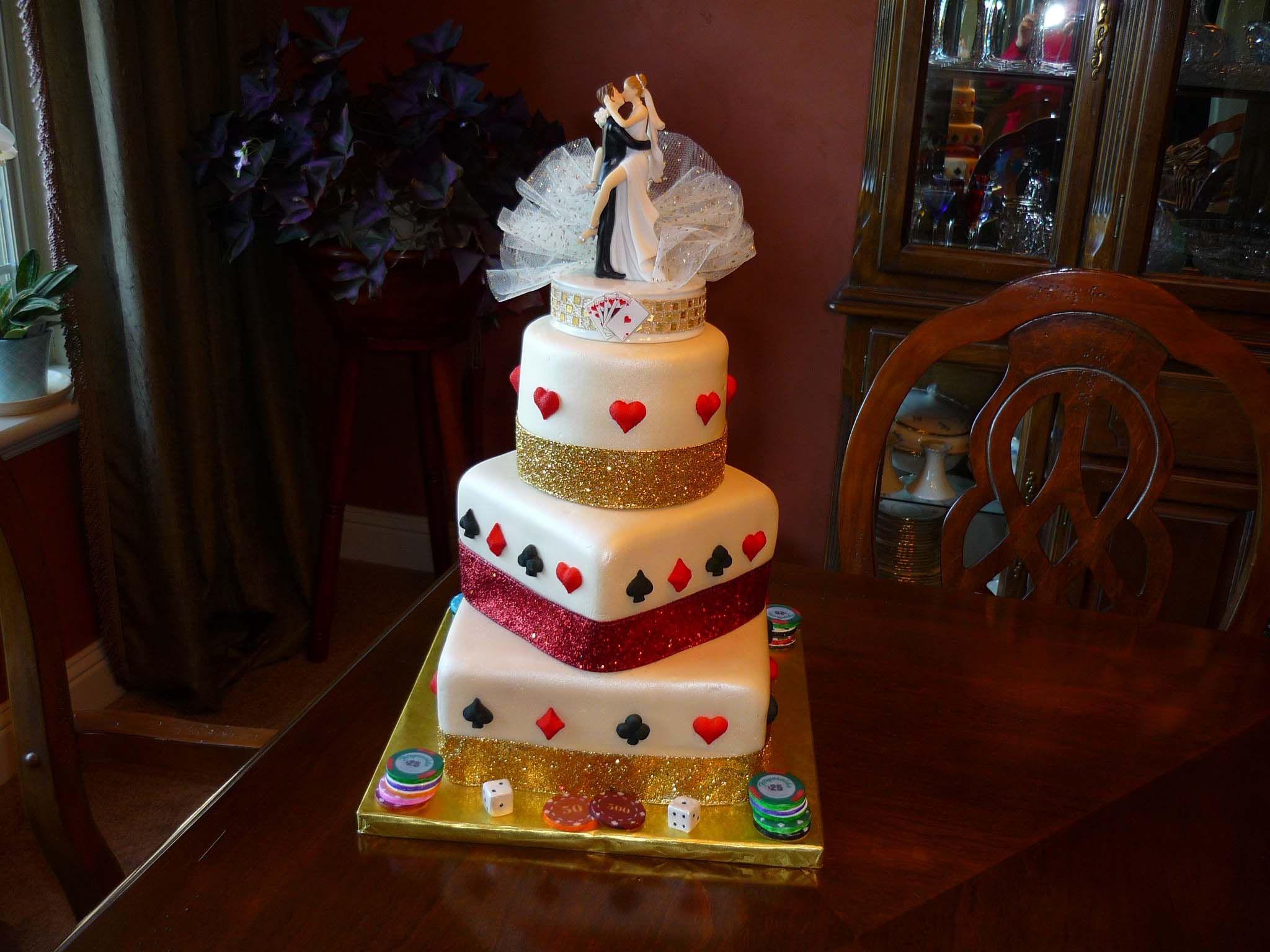 las vegas wedding theme one divine cake pinterest