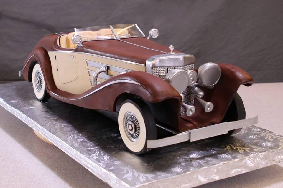 classic car cakes