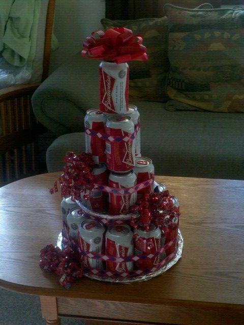 budweiser birthday cakes