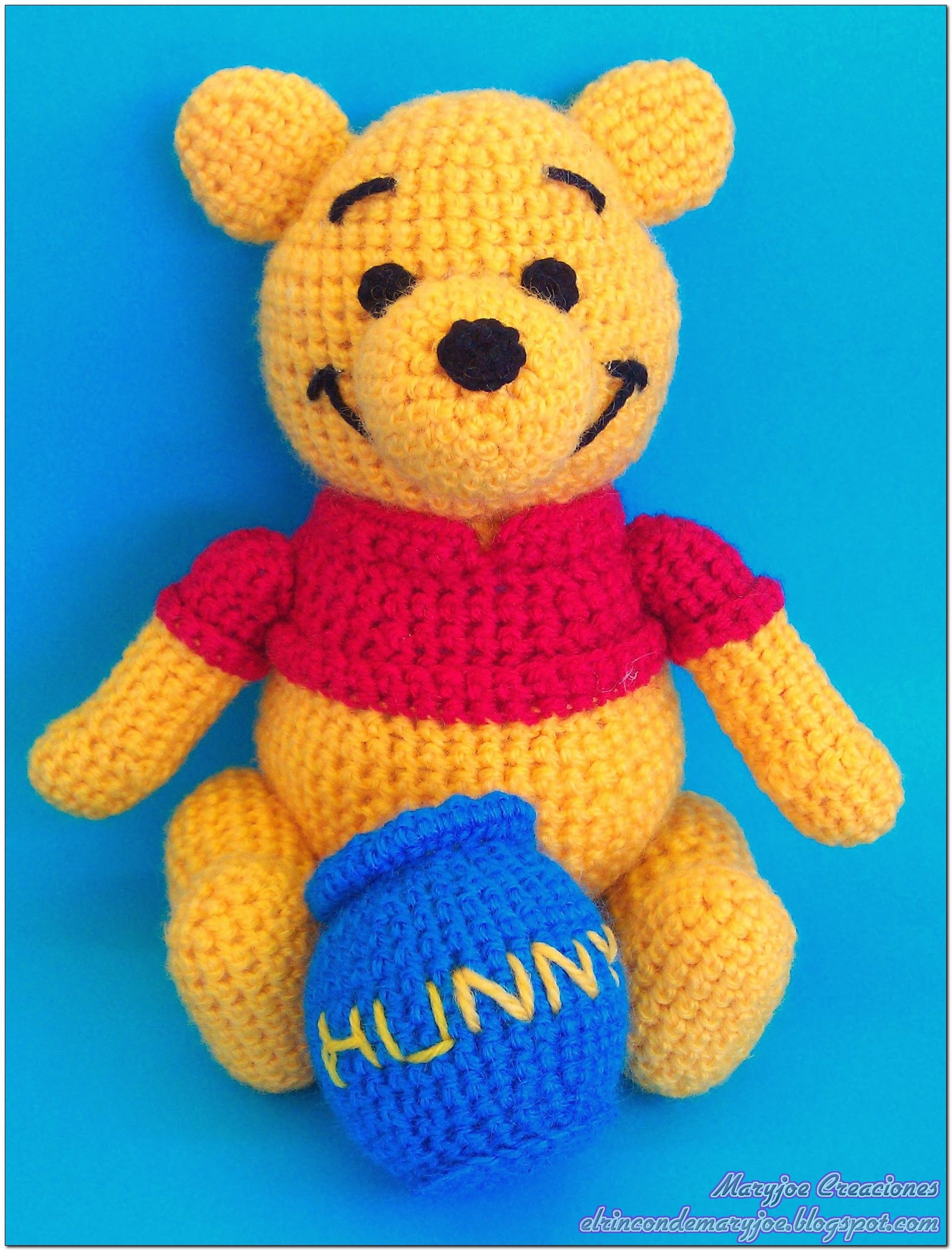 Winnie The Pooh And Friends Amigurumi : Amigurumi Winnie the Pooh Amigurumi Pinterest