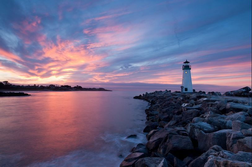 pretty sky and lighthouse | GOD'S BEAUTIFUL GIFTS | Pinterest Lighthouse