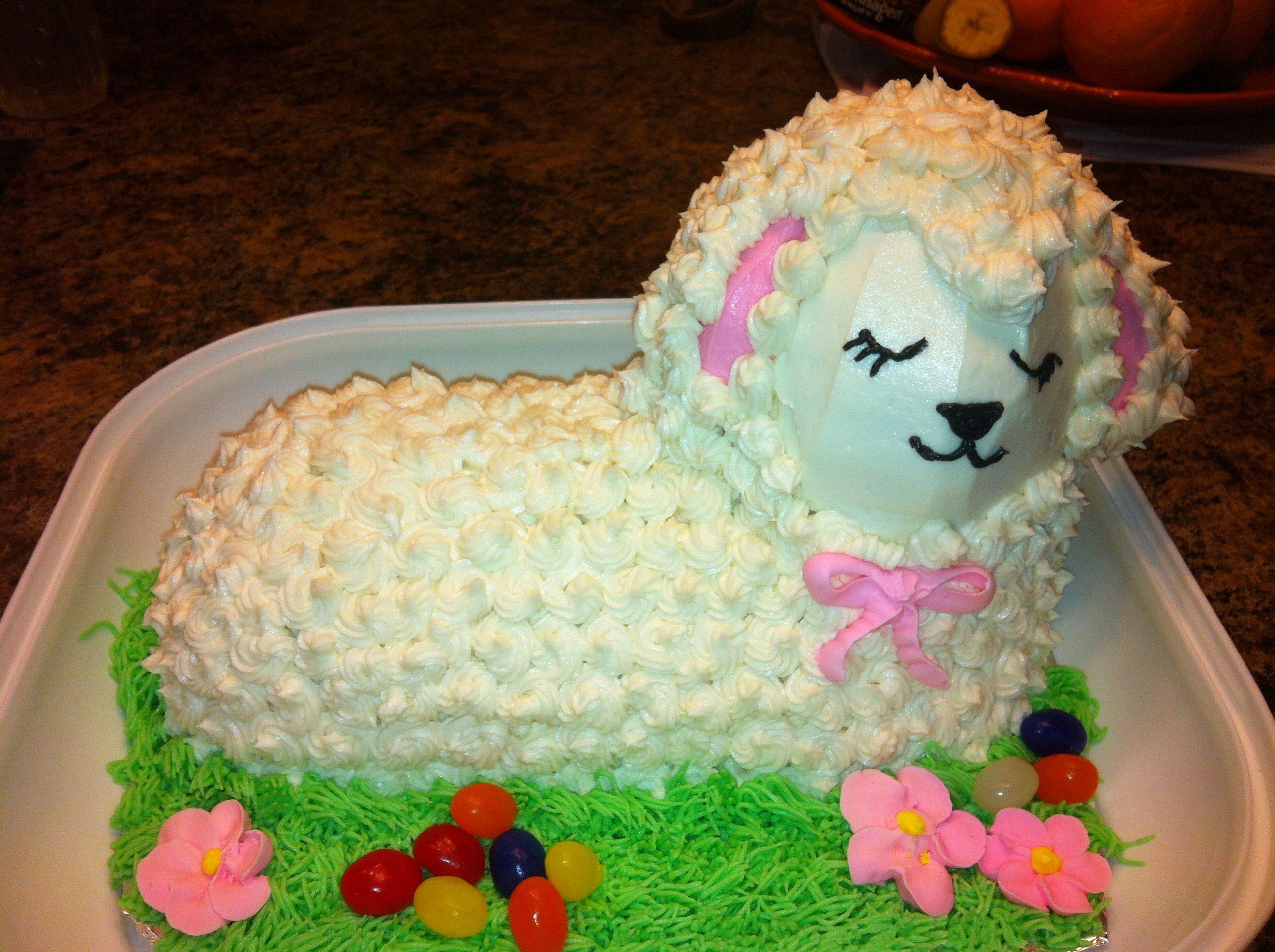 Easter Lamb | cakes | Pinterest