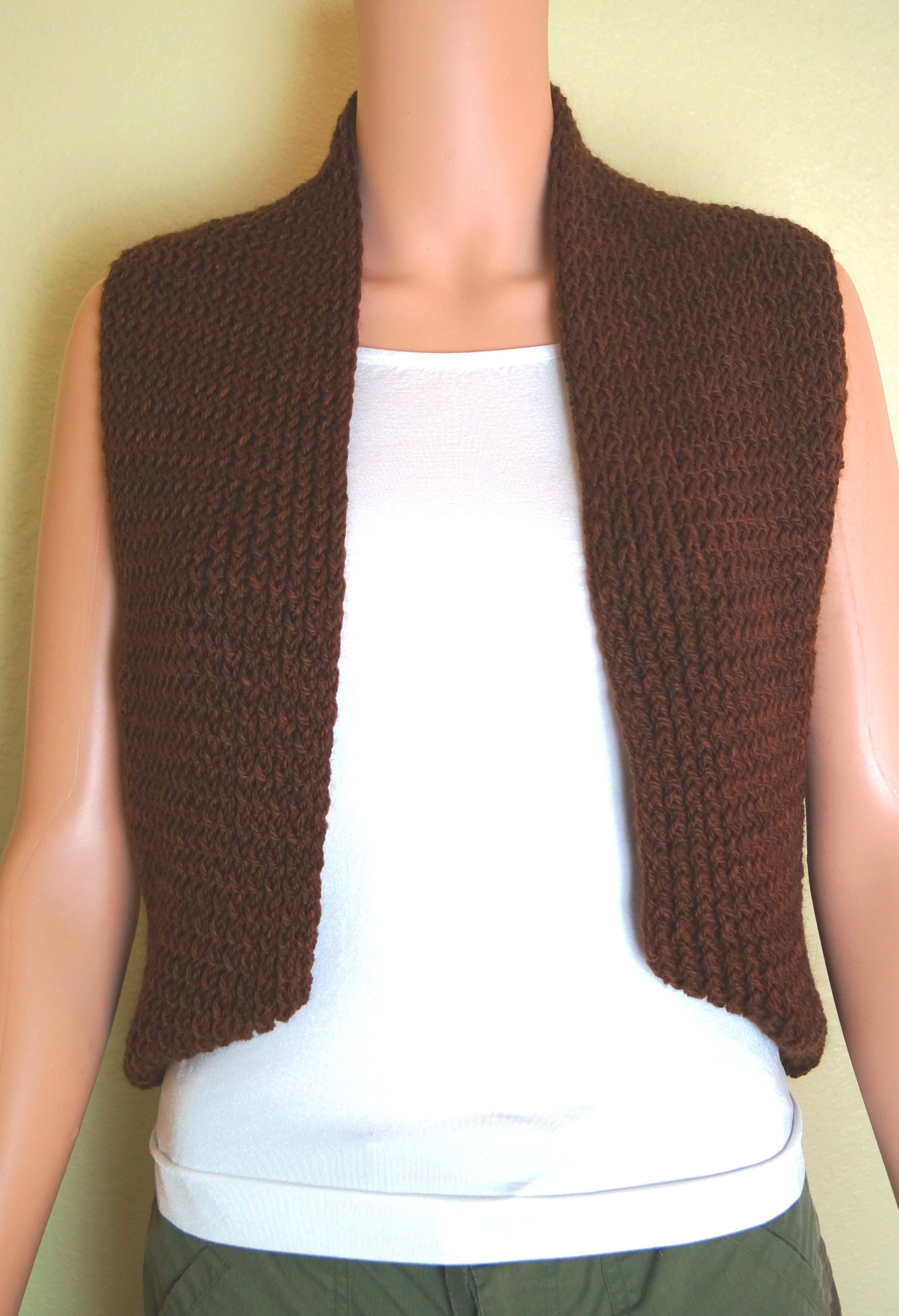 Loom Knit Vest Pattern : Loom Knit Infinity Vest Its A Family Affair Designs ...