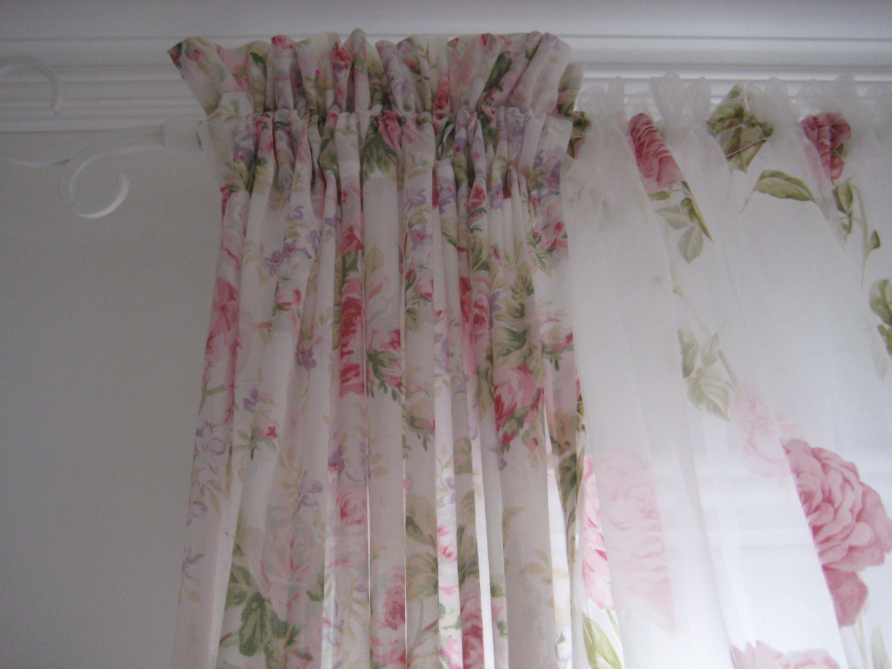 shabby chic drapes curtains