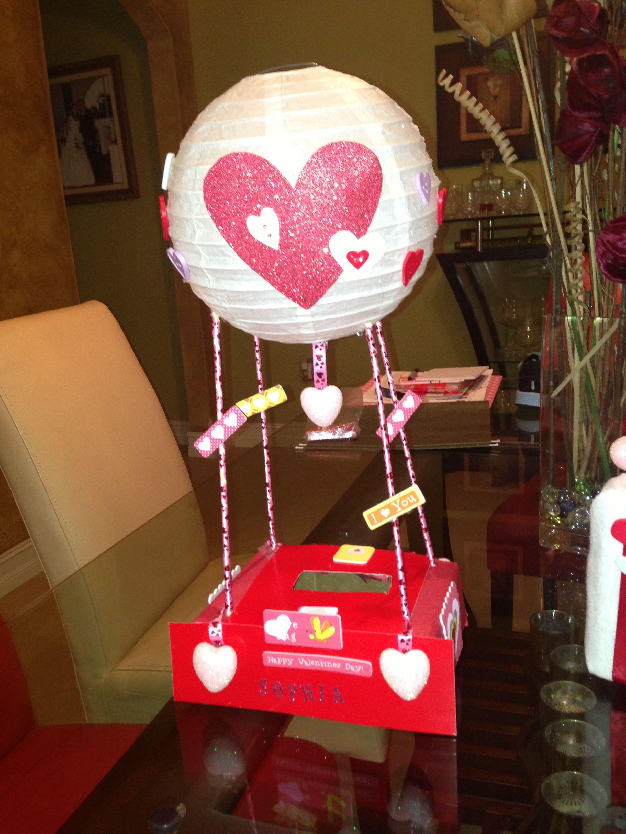 Valentines day boxes for girls