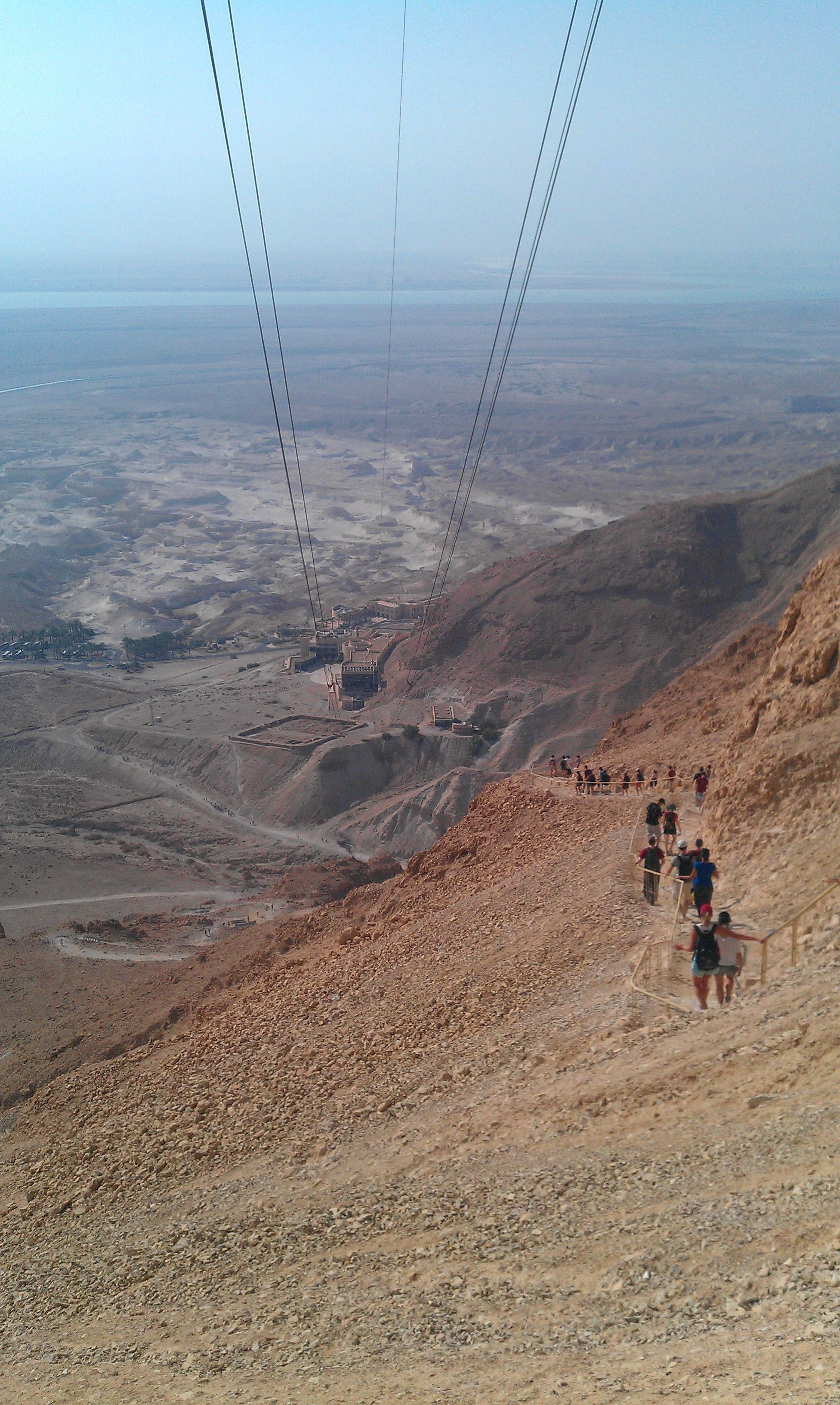 Masada israel snake path biblical archaeology pinterest