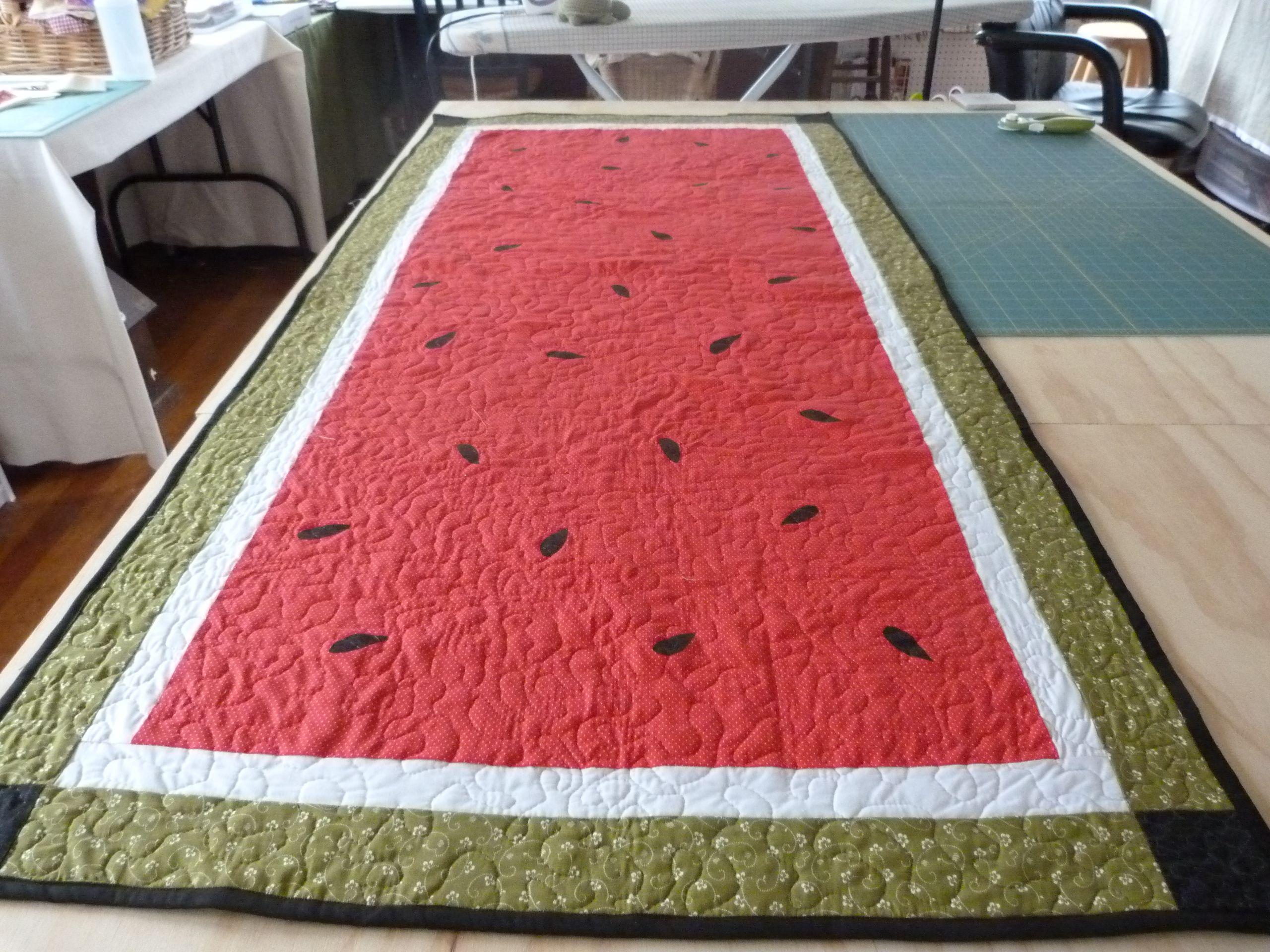 Craft Watermelon  pinterest  Pinterest   Table Ideas runner  table Runner ideas