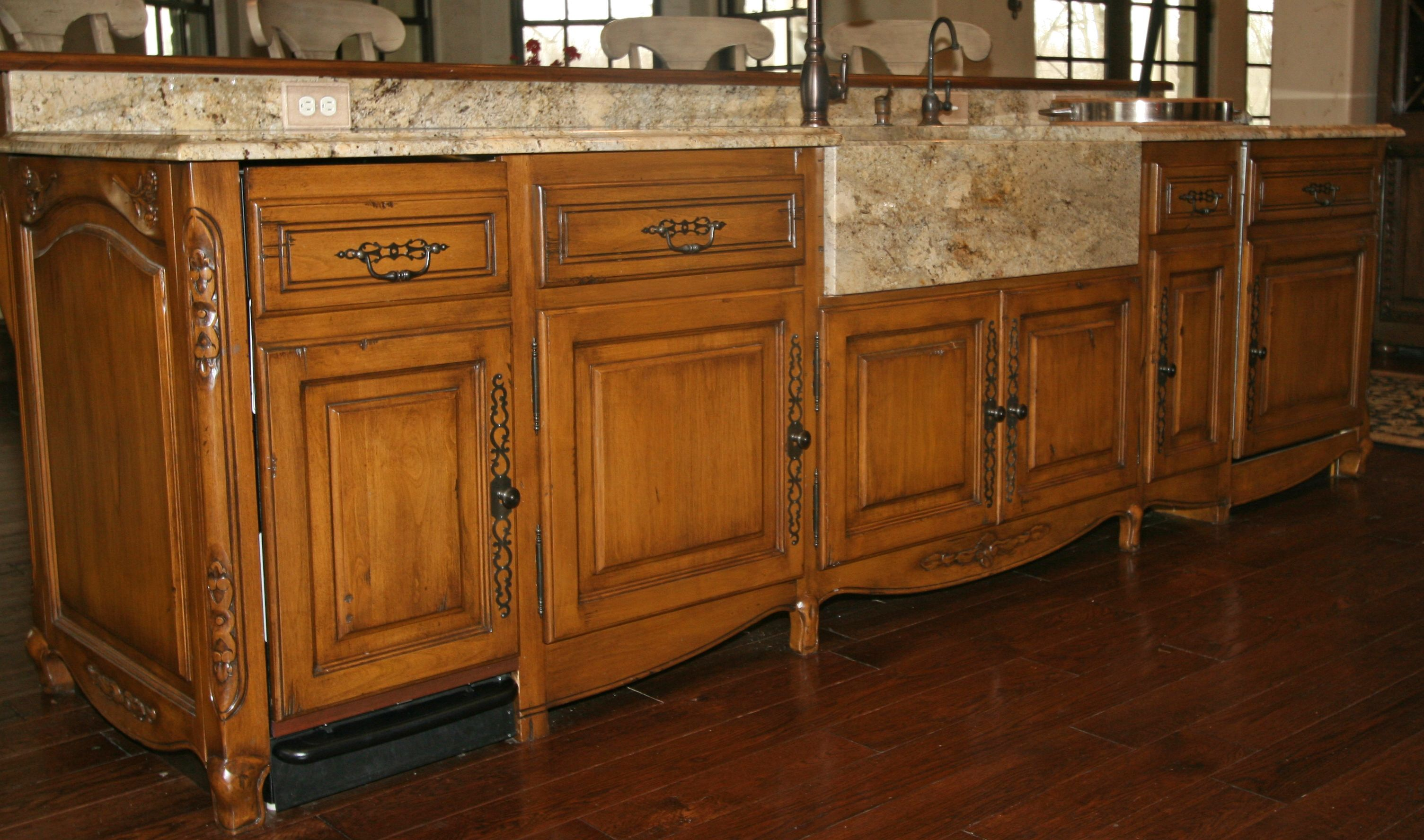 Granite Apron Front Sink : Apron front granite sink Kitchen ideas Pinterest