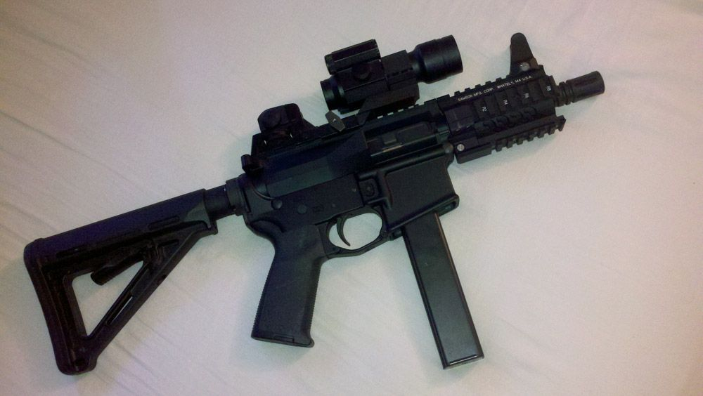 9mm sbr ar uguu weapons tactical equipment edc survival etc