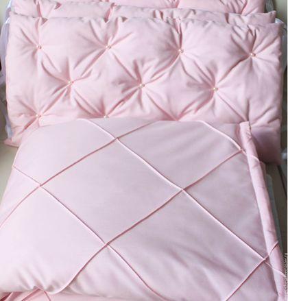 Сшить бортики в кроватку из синтепона своими руками