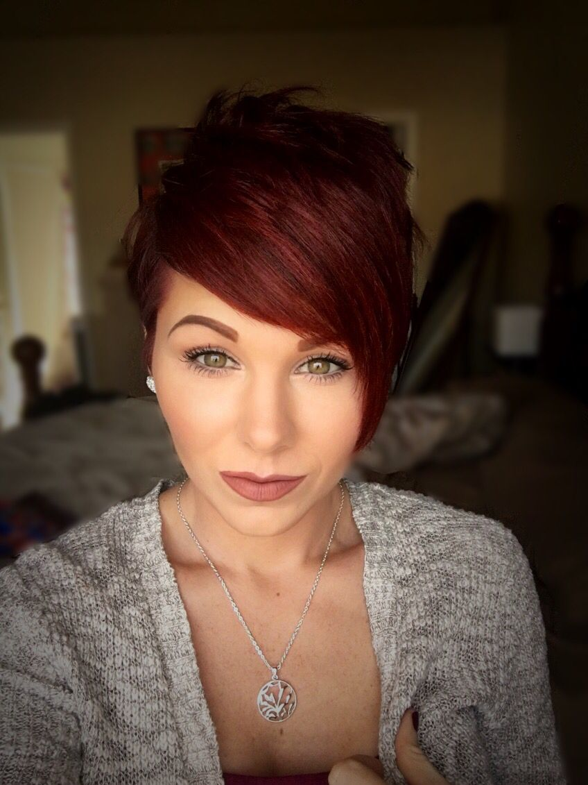 Watch 10 Chic and Showy Red Pixie Hairstyles video