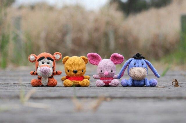 Winnie The Pooh Amigurumi Tutorial : Winnie the Pooh baby crochet amigurumi Amigurumi Pinterest