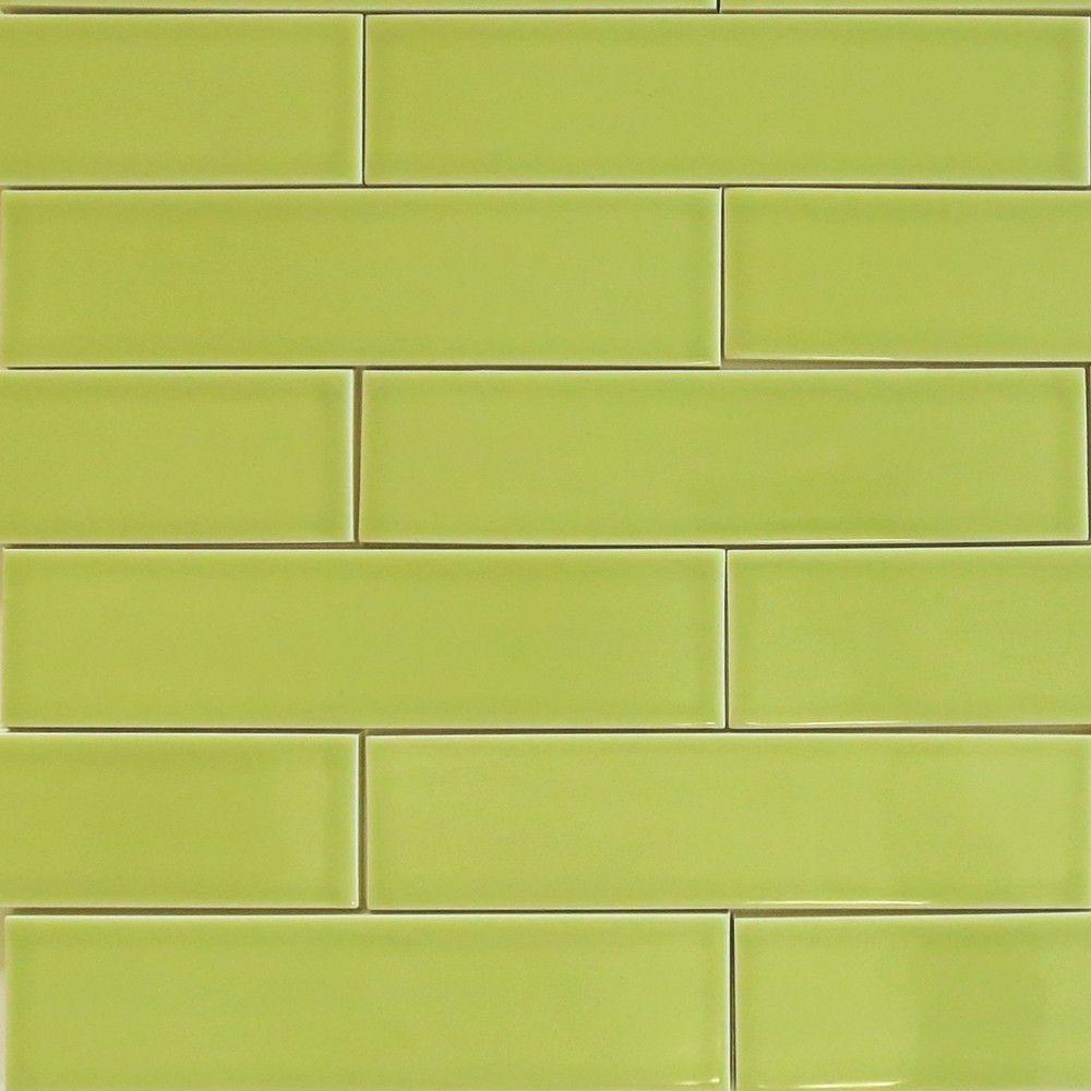 Subway tile green