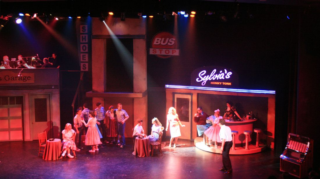 'All Shook Up' set | 1950s and 60s retro style