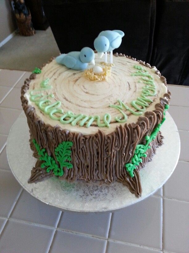 woodland baby shower cake baby shower and gifts pinterest